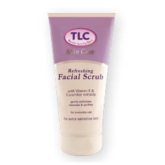 TLC Refreshing Facial Scrub for Sensitive Skin