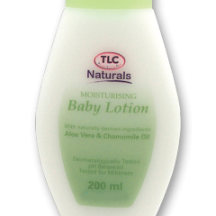 TLC Naturals Moisturising Baby Lotion