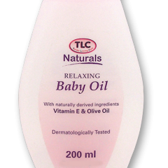 TLC Naturals Relaxing Baby Oil