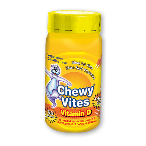 CHEWY VITES 60's Vitamin D