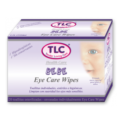 Eye Care Wipes Bebé