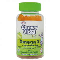 Chewy Vites Omega 3 + Multi y Minerales